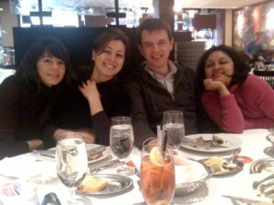 Our lab at Fogo de Chao, Dec 2011